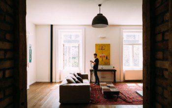 Foto bonita para anúncio de aluguel