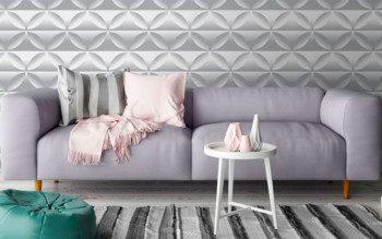 Papel de parede 3D: inspirações incríveis pra você valorizar o seu imóvel