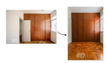 Antes e depois: veja os armários renovados na reforma de apê em BH