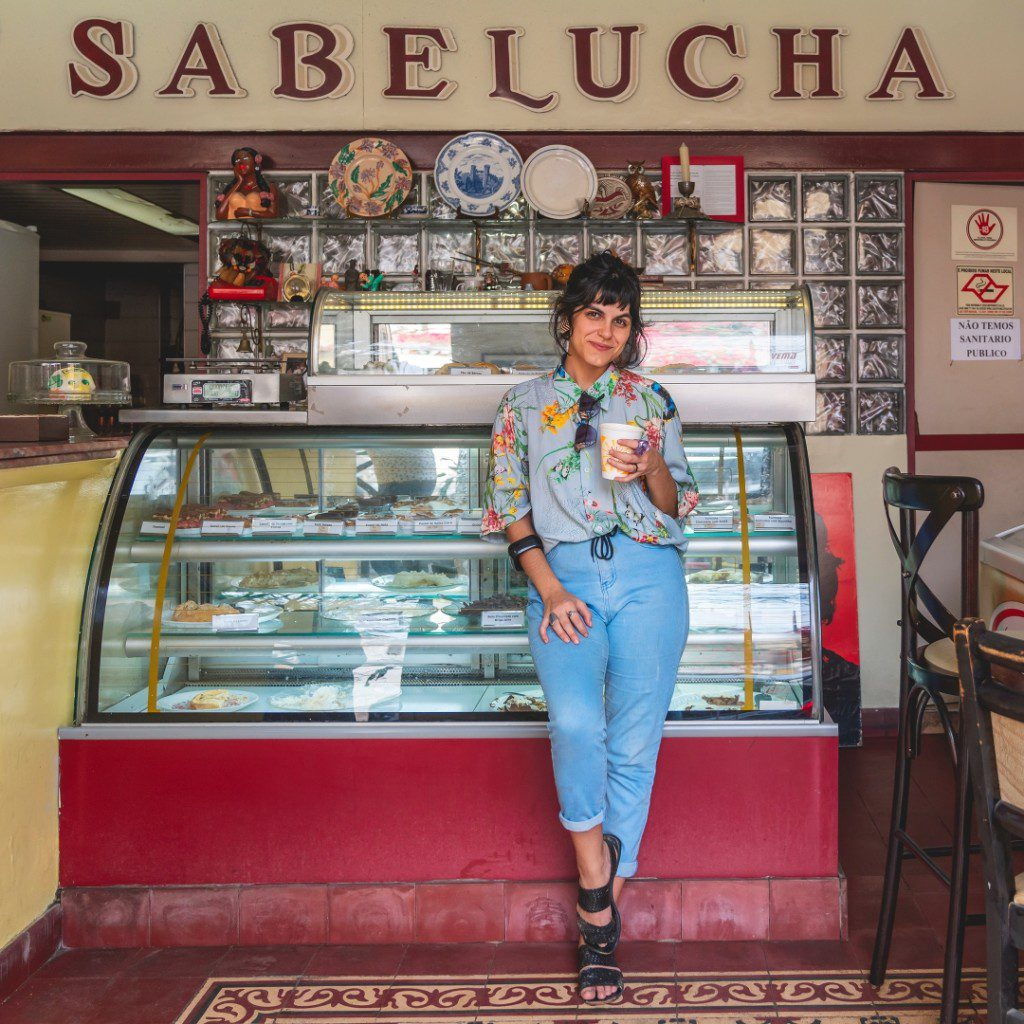 Sabelucha, no bairro do Bixiga
