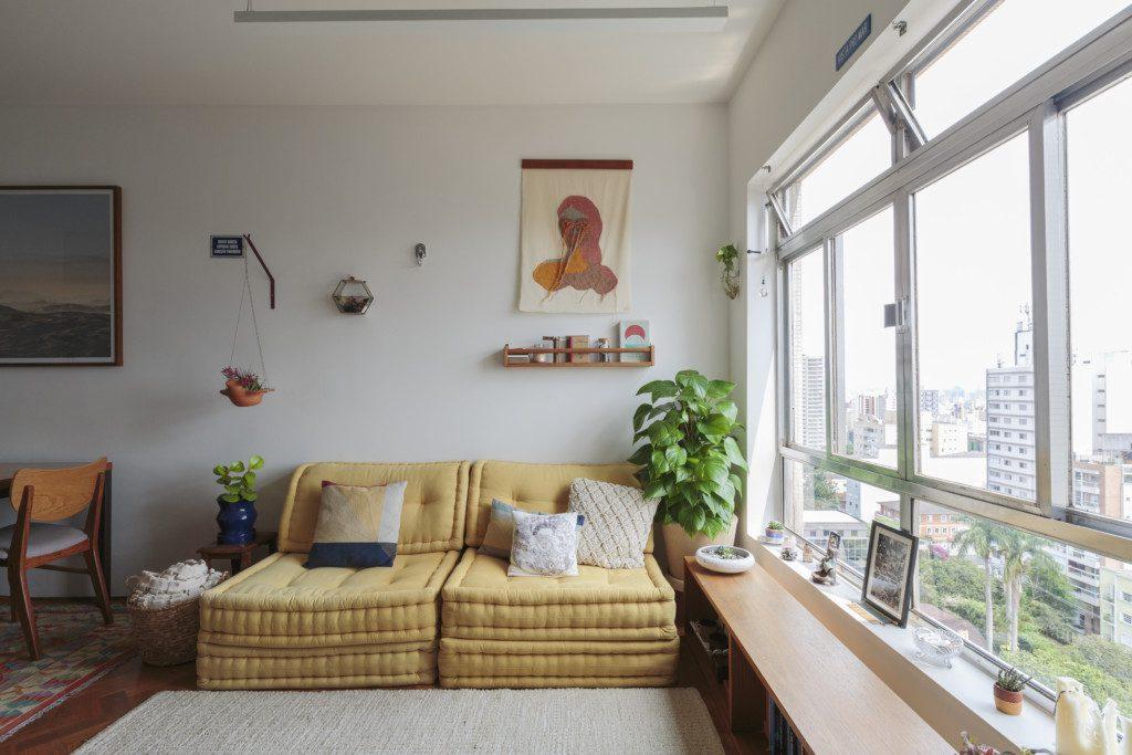 Histórias de casa - móvel da janela