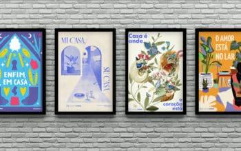 QuintoAndar Colab: baixe agora 4 pôsteres gratuitos pra decorar a sua casa
